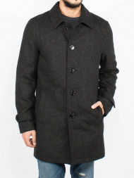 SAMSØE & SAMSØE / SHdtribeca wool coat dark grey