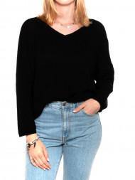 MOSS Copenhagen / Iona knit pullover v neck black