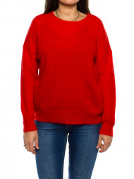 / Femme pullover fiery red