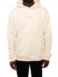 NN07 / Barrow printed hoodie vanilla
