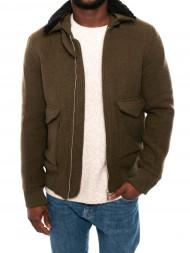 KRAKATAU / Planchett wool  jacket olive