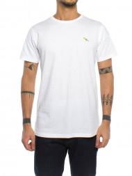 SAMSØE & SAMSØE / Bird stitch t-shirt 1920 white