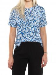 American Vintage / Juliet bree print shirt blue