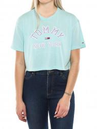 SAMSØE & SAMSØE / Collegiate t-shirt 407 blue
