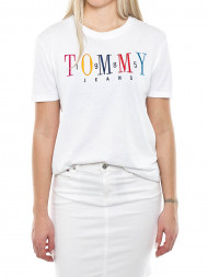 TOMMY HILFIGER / 1985 embroidery t-shirt white