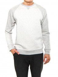 Norse Projects / Ketel contrast sweatshirt light grey