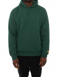 carhartt WIP / Hooded chase sweater treehouse