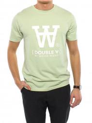 WOOD WOOD / Ace t-shirt logo pistacchio