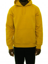 carhartt WIP / Hooded chase sweater colza god