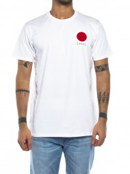 Nudie Jeans co / Japanese sun t-shirt white