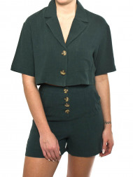 NATIVE YOUTH / The leanne crop jacket green