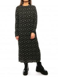 Neo Noir / Vogue flower dress small blk