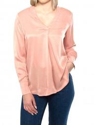 SAMSØE & SAMSØE / Hamill v-neck blouse rose tan