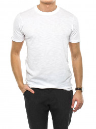 DENHAM / Kamon t-shirt bright white