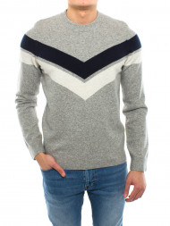 / Eldridge pullover grey mel str