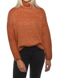 SECOND FEMALE / Ambra knit t-neck carnelian