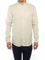 Nudie Jeans co / Liam shirt clear cream