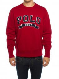 Polo Ralph Lauren / Vintage fleece sweater red