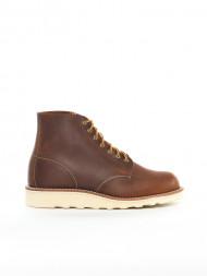 ROCKAMORA / 6-inch round wmns boots copper rough
