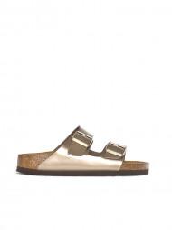 BIRKENSTOCK / Arizona sandals electric metallic taupe