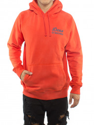 Maison030 / Sunbleached hoodie red clay