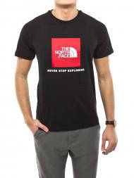 The North Face / Rag t-shirt redbox black