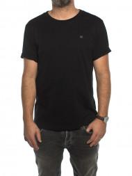 ellesse / Embroidery shirt ck black