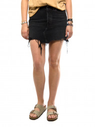 SECOND FEMALE / Deconstructed skirt blk peony