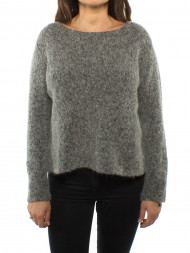 American Vintage / Zap pullover gris chine