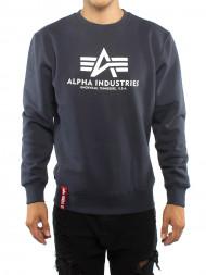 ALPHA INDUSTRIES / Basic sweater navy