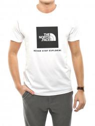 The North Face / Rag t-shirt redbox white