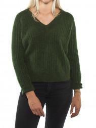 SAMSØE & SAMSØE / Alissa knit v-neck rifle green