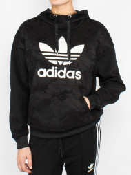 adidas / Lace hoodie black