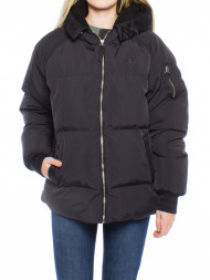 WHY7 / Short bomber jacket black