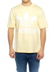 adidas / Trefoil oversized t-shirt mist sun