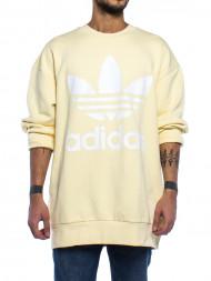 adidas / Trefoil oversized sweatshirt mist sun