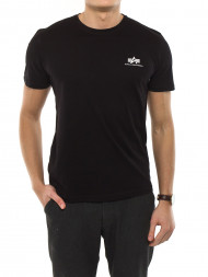ALPHA INDUSTRIES / Basic small logo t-shirt black