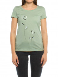 ARMEDANGELS / Mari big pepper rose t-shirt mint