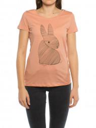 ARMEDANGELS / Mari bunny t-shirt rose
