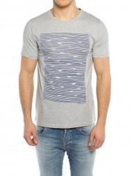 TOMMY HILFIGER / James t-shirt gone fishing grey