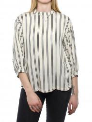 SECOND FEMALE / Alana shirt ecru stripe