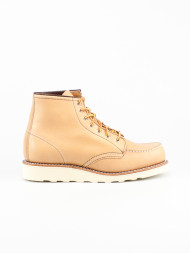 RED WING SHOES / Wmns 6 inch moc boots beige