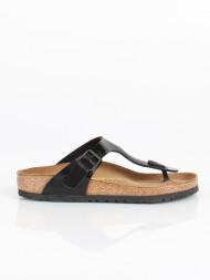 BIRKENSTOCK / Gizeh sandals black lack