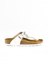 BIRKENSTOCK / Gizeh fringe sandals graceful mauve