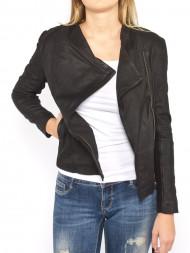 SAMSØE & SAMSØE / Adelaide leather jacket black