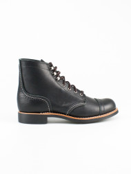 RED WING SHOES / Wmns Iron ranger boots black