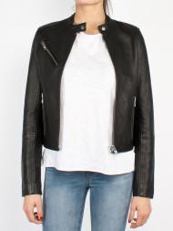 SAMSØE & SAMSØE / Gains leather jacket black
