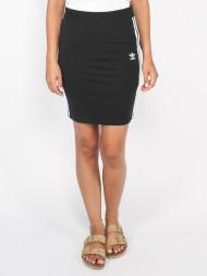 GLAMOROUS / 3stripes skirt black