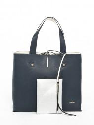 Calvin Klein / Stef reversible tote bag blue