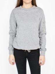 DR. DENIM / Blue sweatshirt grey